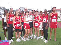 ATC T&F team photo at Classic 2010