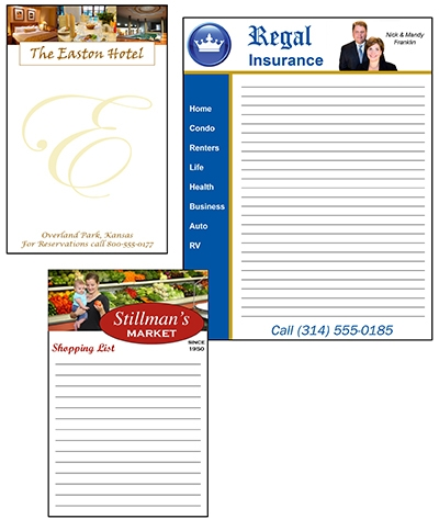 Custom-Printed Note Pads