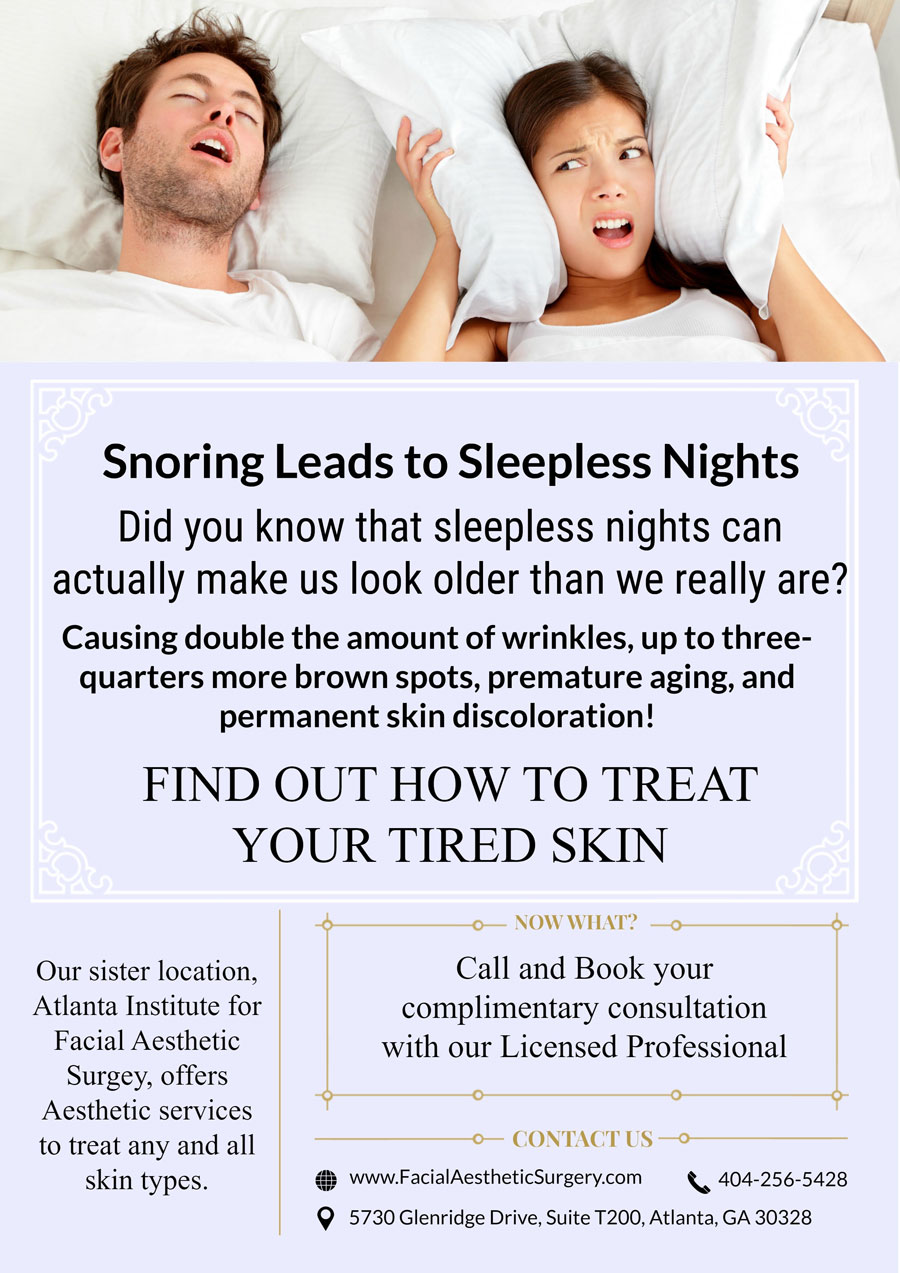 Snoring Leads to Sleepless Nights