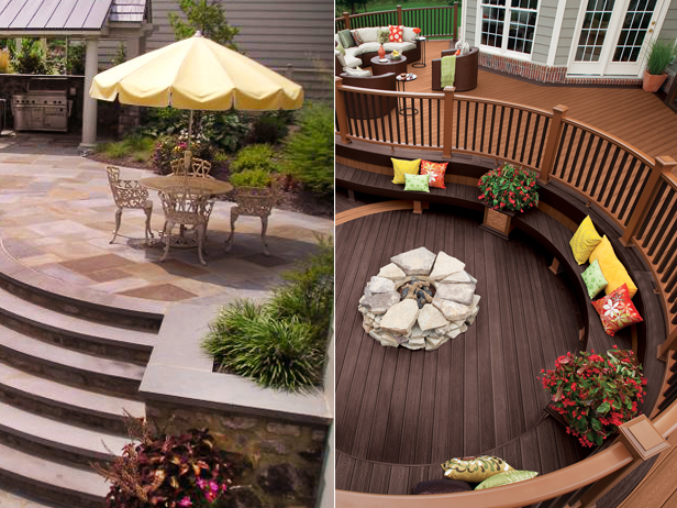 deck and stone