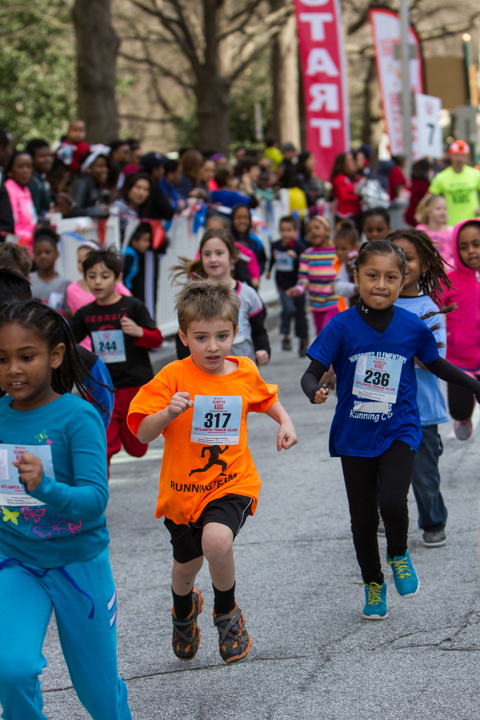 Youth Running