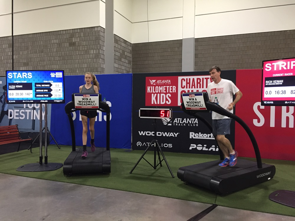 48-Hour Treadmill Challenge Off and Running