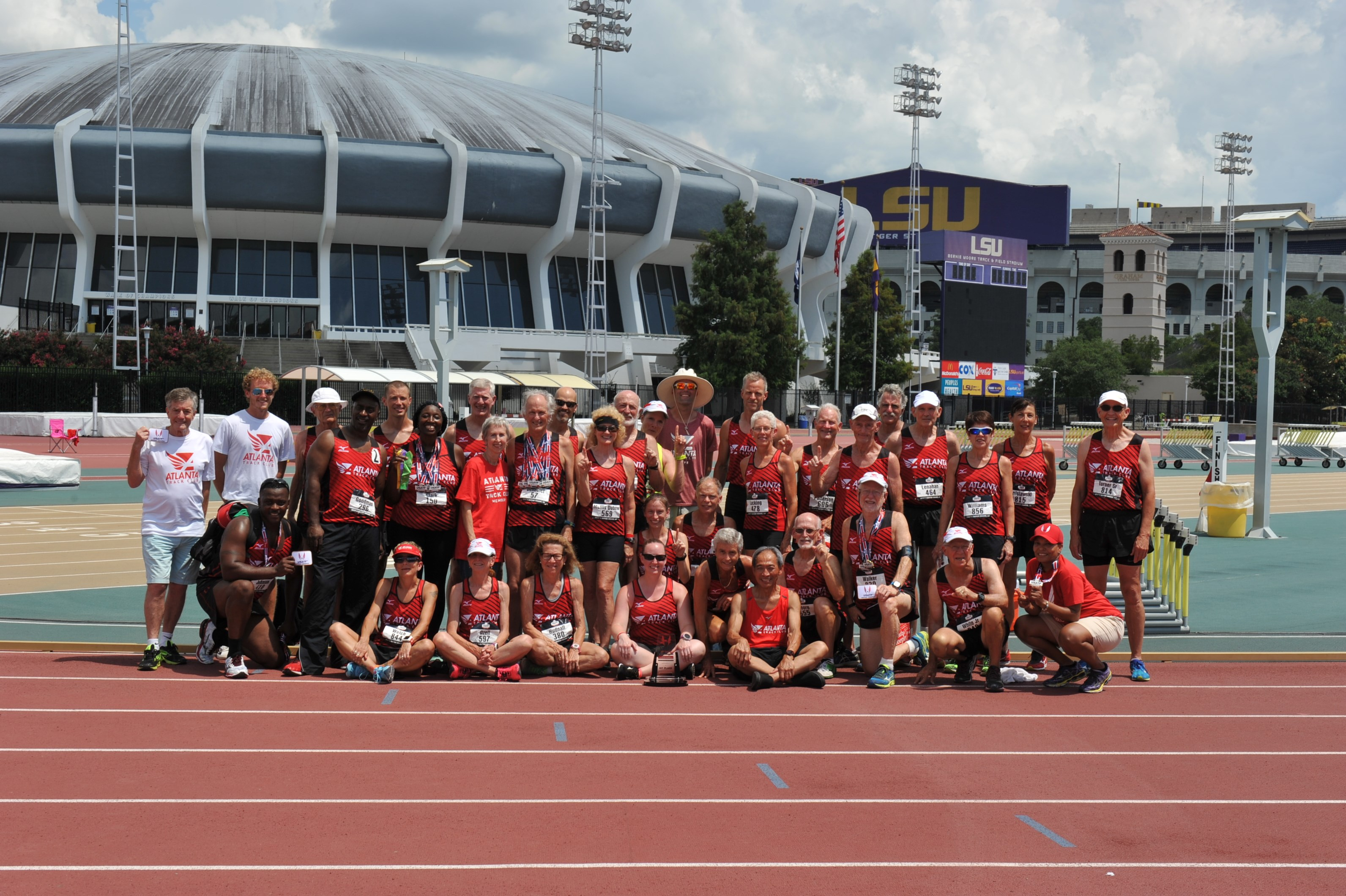 Atlanta Track Club Dominates Team Competition at USATF Masters Outdoor Championships