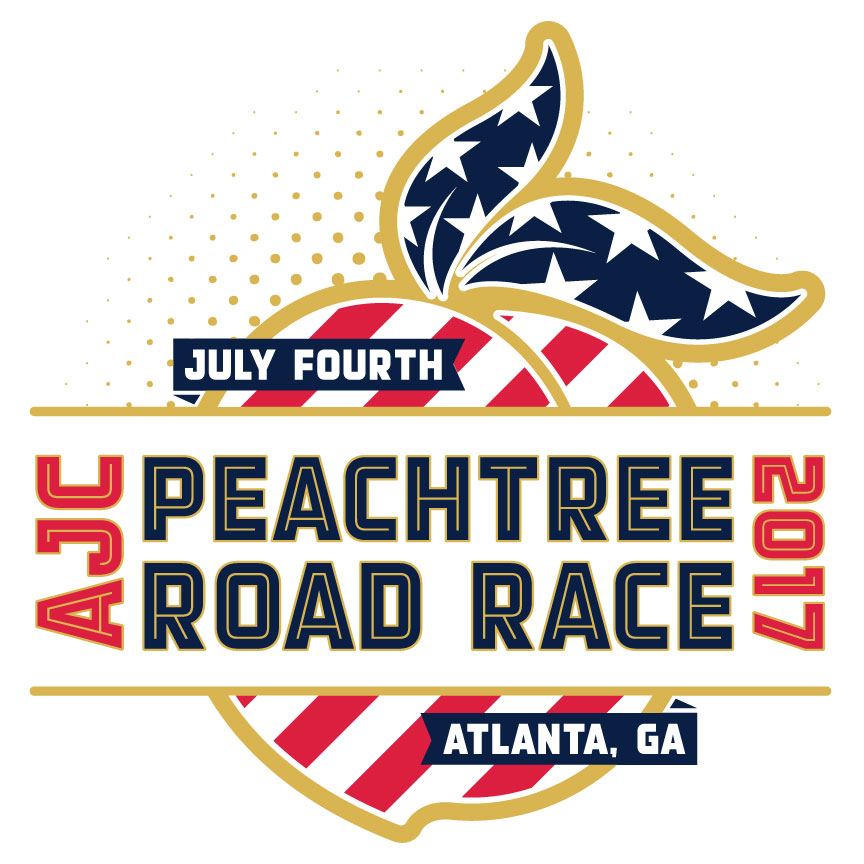 Dirt Track Racing Shirt Designs   2017 Ajc Peachtree Road Race T Shirt Design Contest Atlanta Track Club