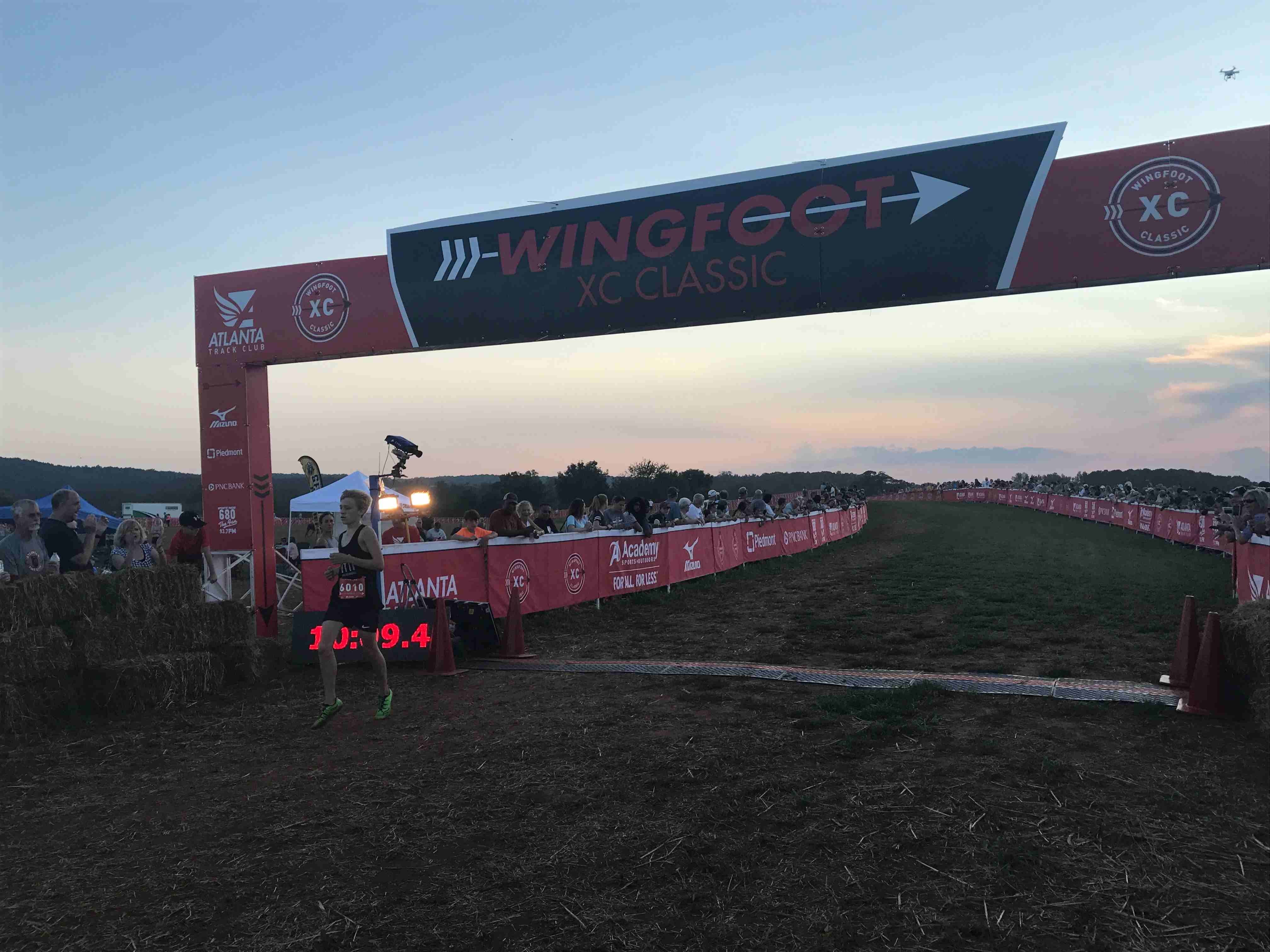 25 Middle Schools Race into the Night at 2017 Wingfoot XC Classic