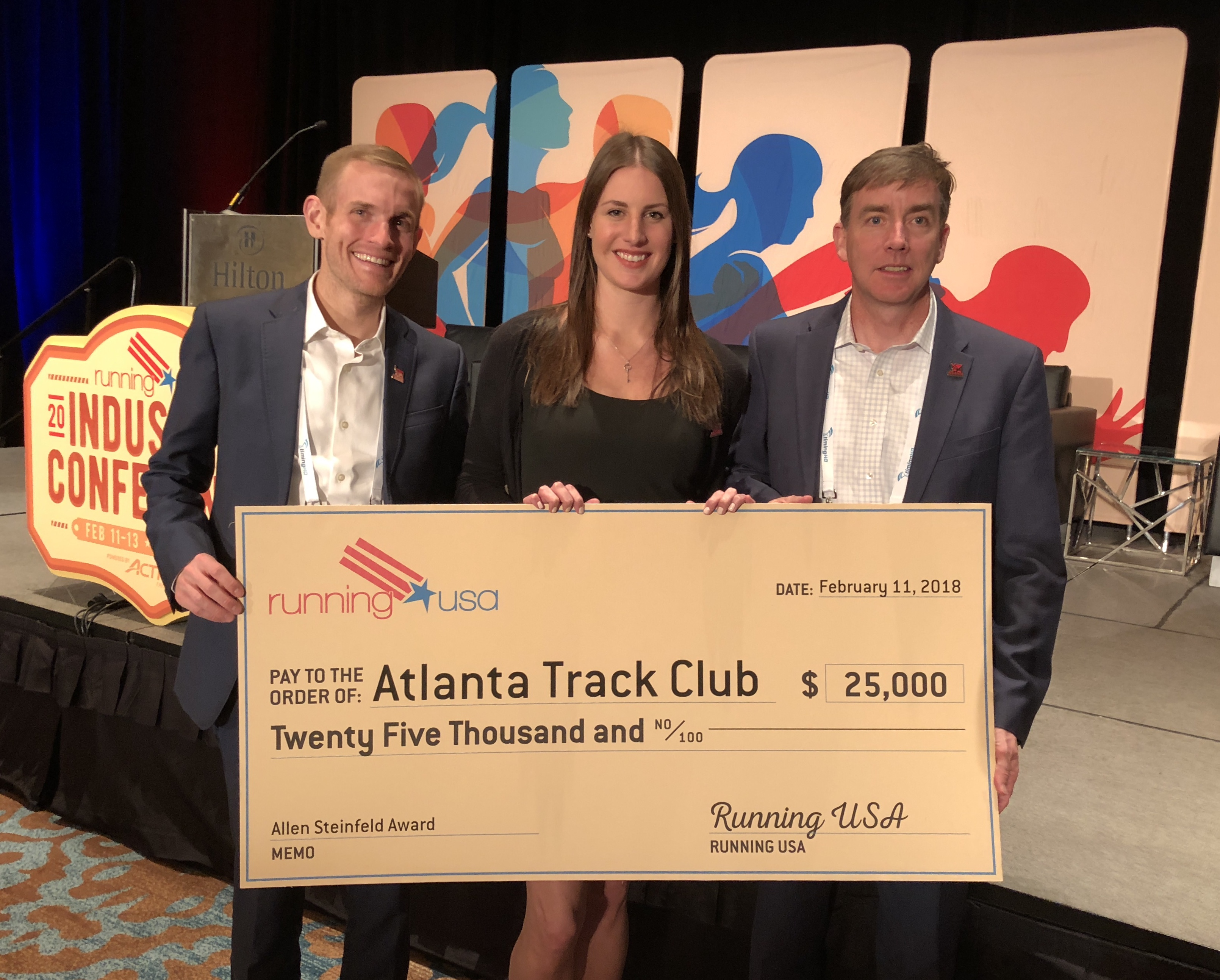 Atlanta Track Club Wins Development Award