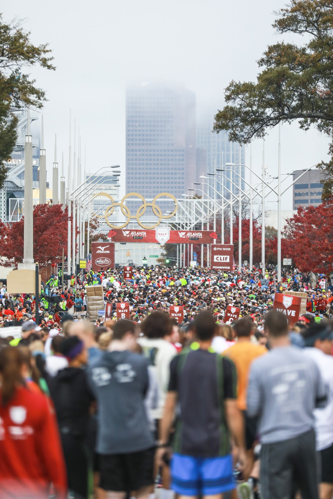 Invesco QQQ Thanksgiving Day Half Marathon | Atlanta Track
