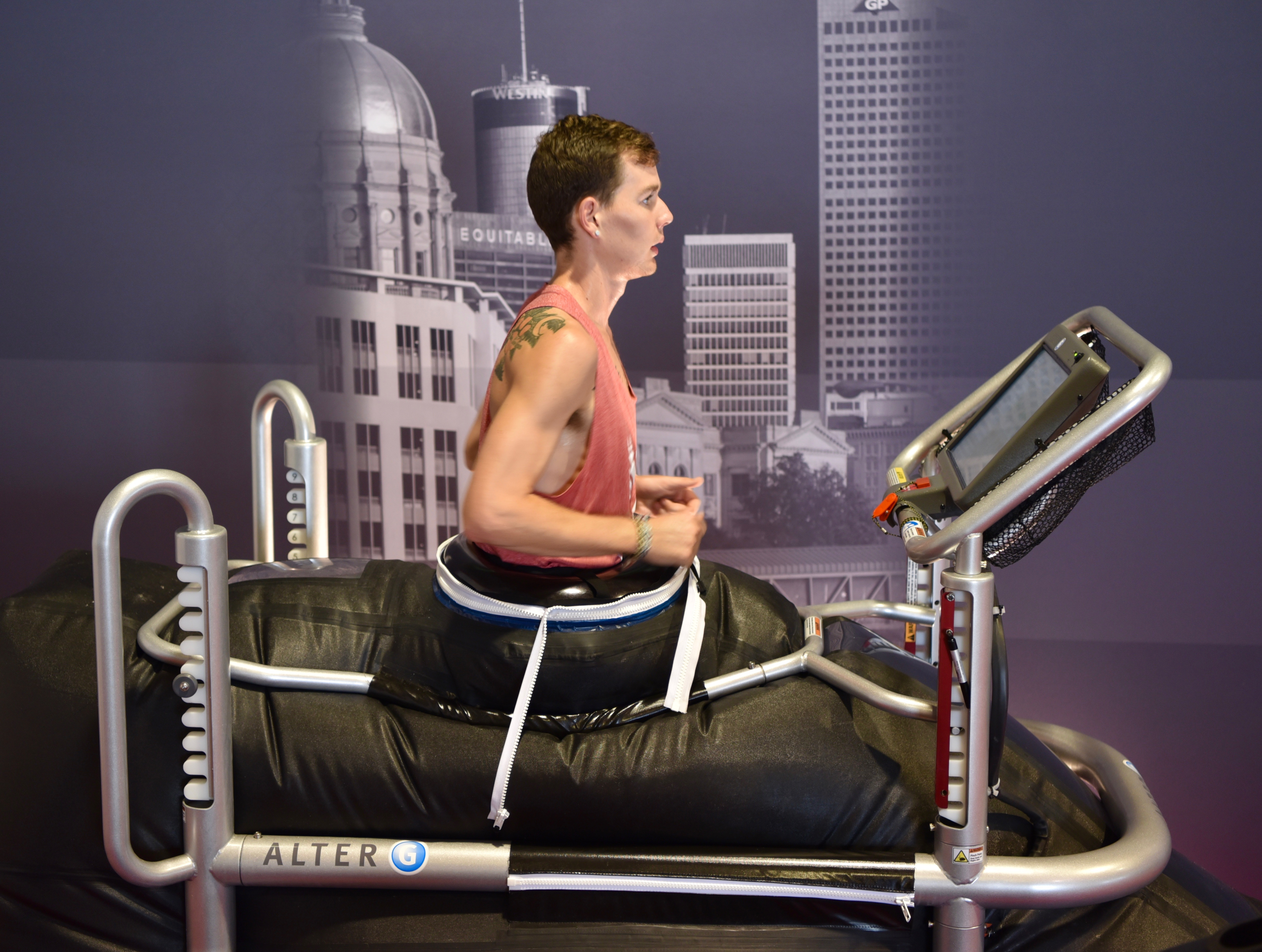 Atlanta Track Club's Alter G Treadmill | Atlanta Track Club