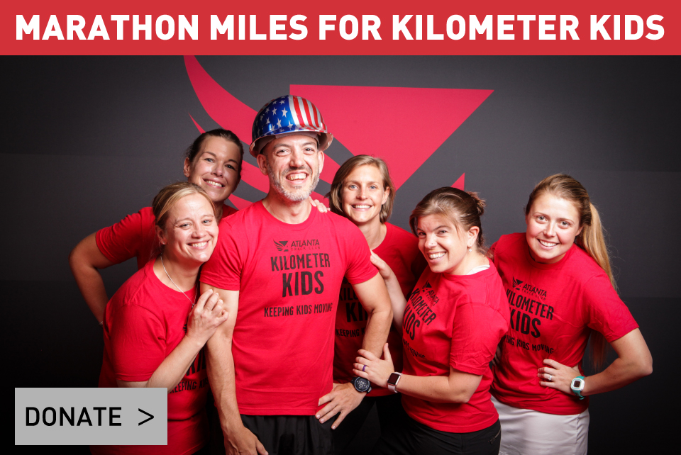 Kilometer Kids Donate Sidebar