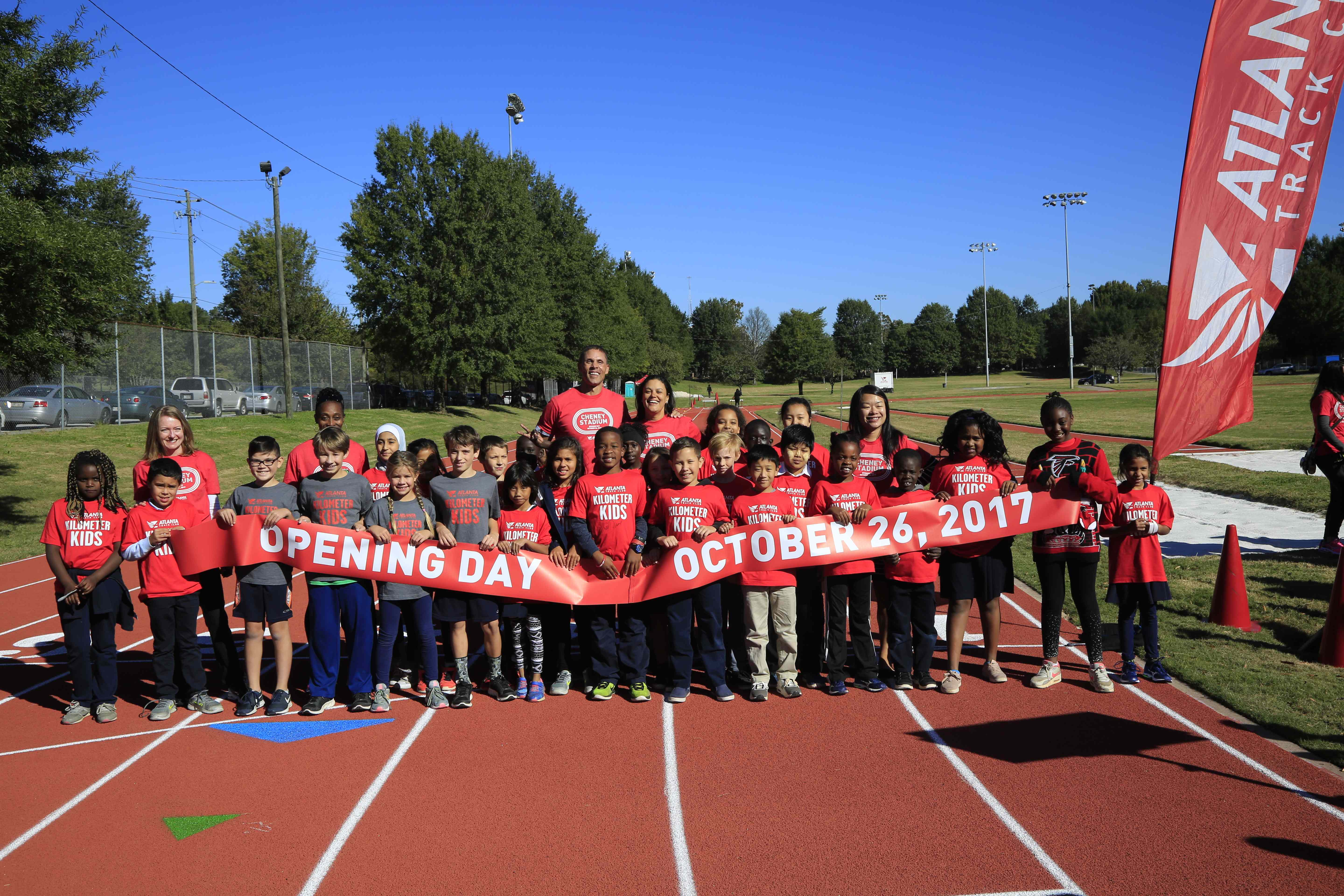 Atlanta Track with Olympic Legacy Reopens as Community Resource