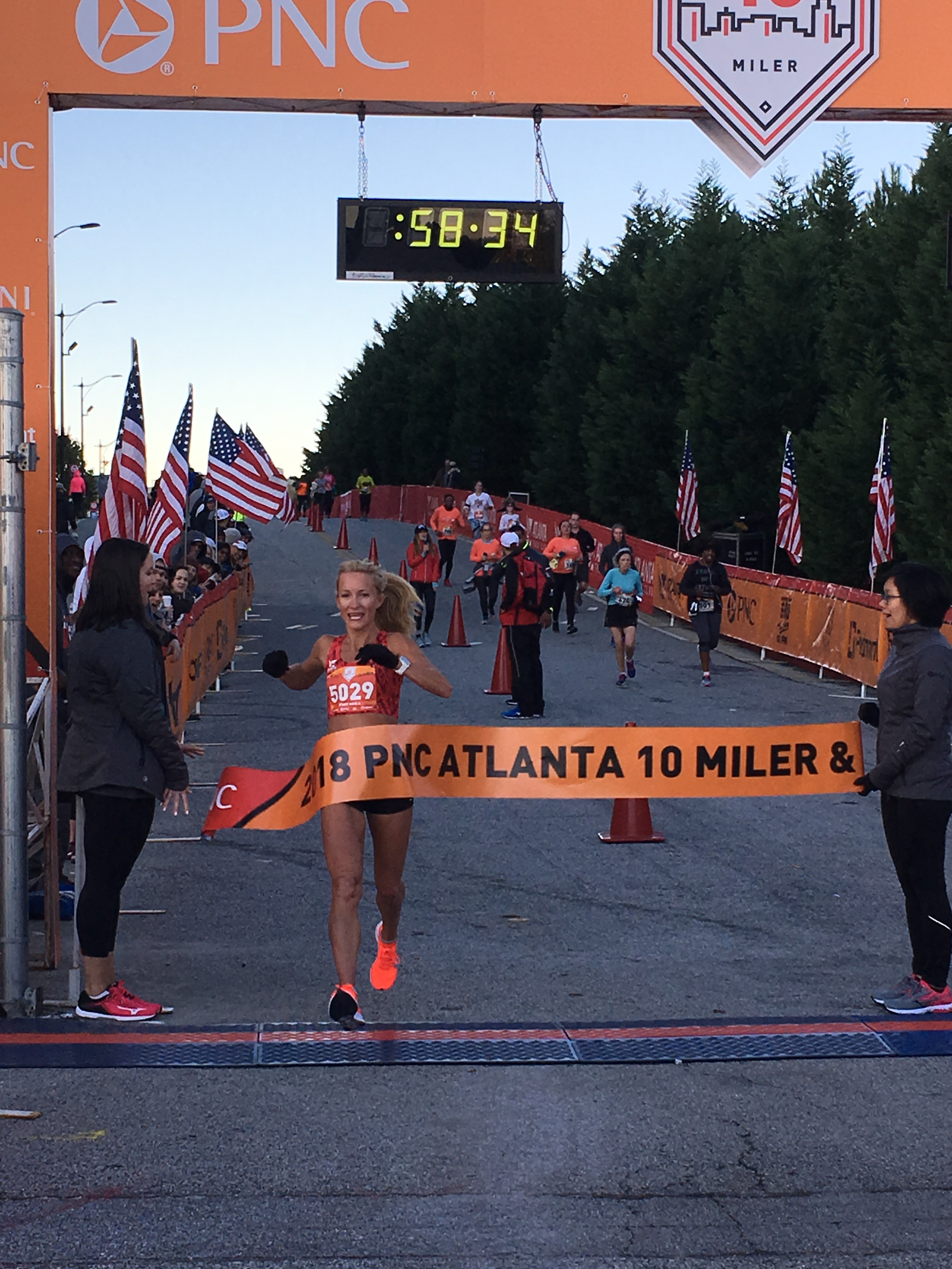 Fall Weather and Fast Finishes at PNC Atlanta 10 Miler & 5K