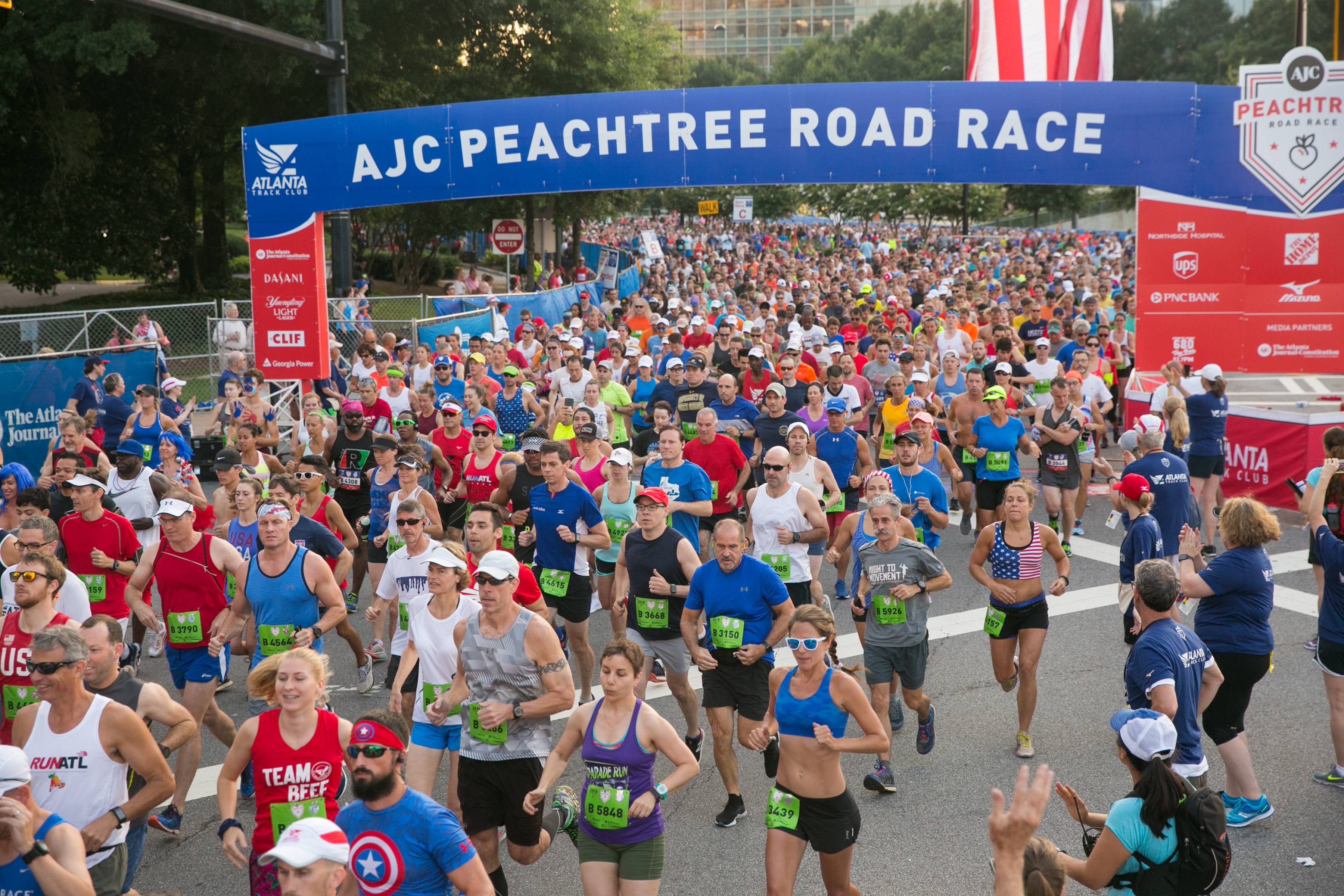 Registration for 50th AJC Peachtree Road Race Friday