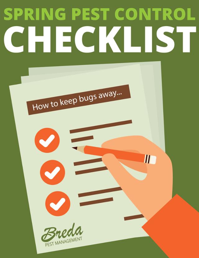 Spring Pest Control Checklist