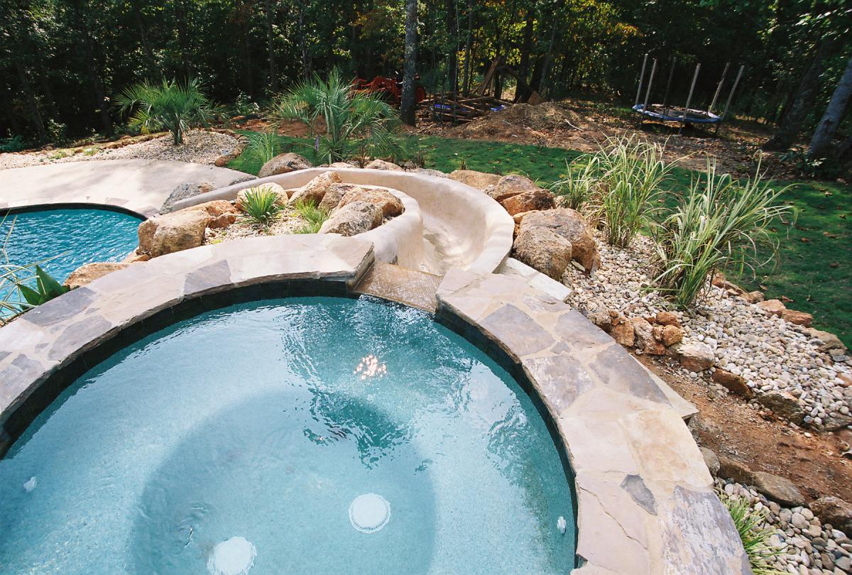 Slides Brown S Pools Spas Inc Brown S Pools Spas Inc