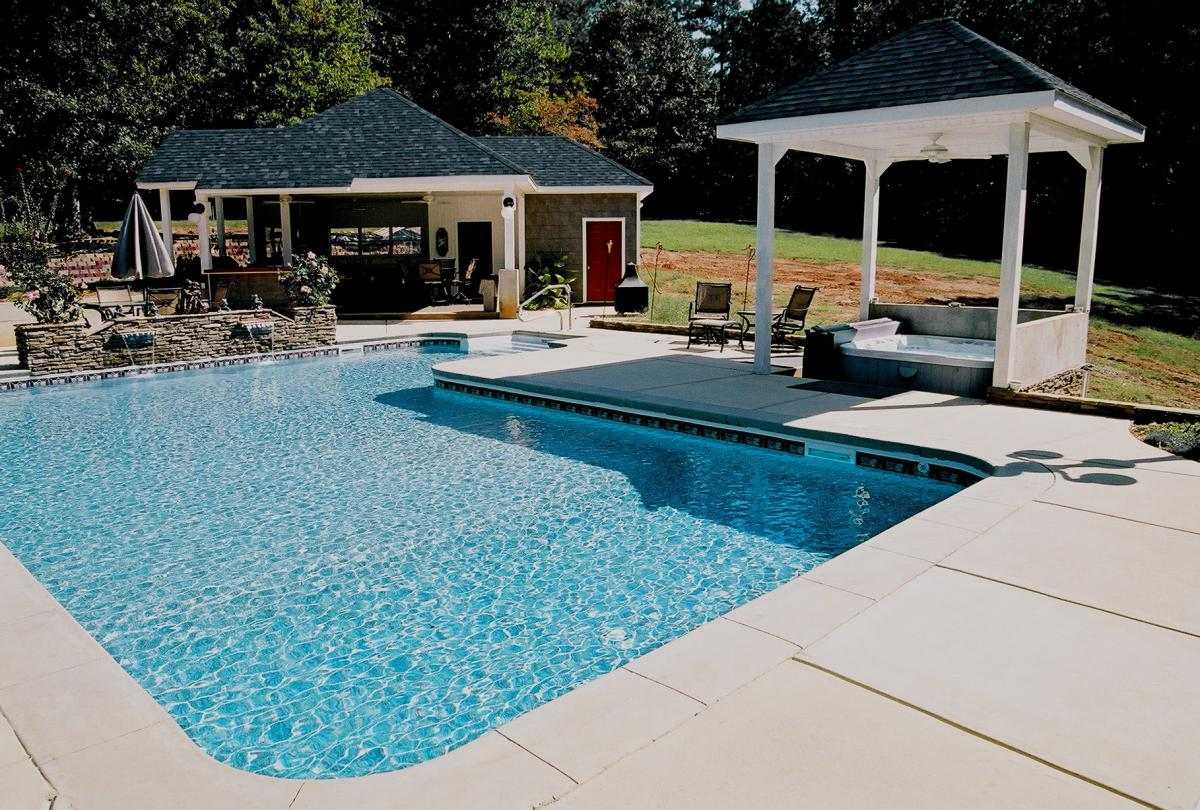 Vinyl Features Gallery | Brown\'s Pools & Spas Inc. | Atlanta ...