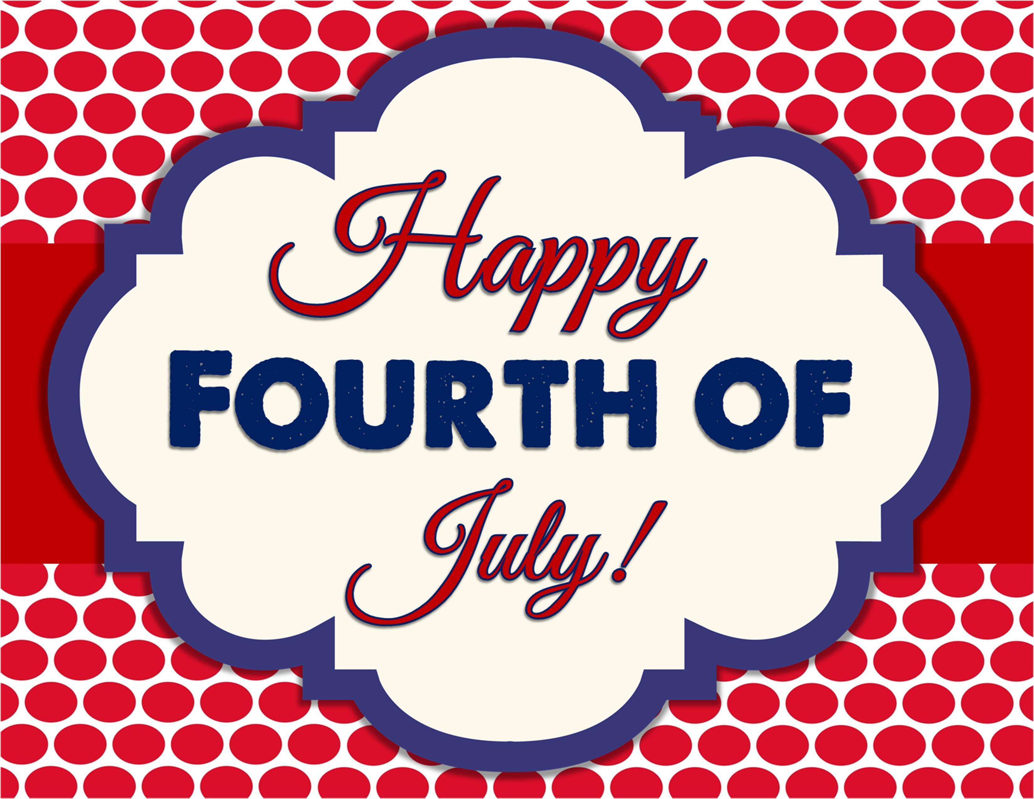 Celebrating July 4th