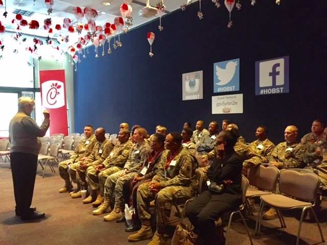 Chick-fil-A Foundation Honors 18 Veterans with Memorable Coin Presentation