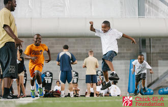 Chick-fil-A Foundation Sponsors Sports Camp at Georgia Tech