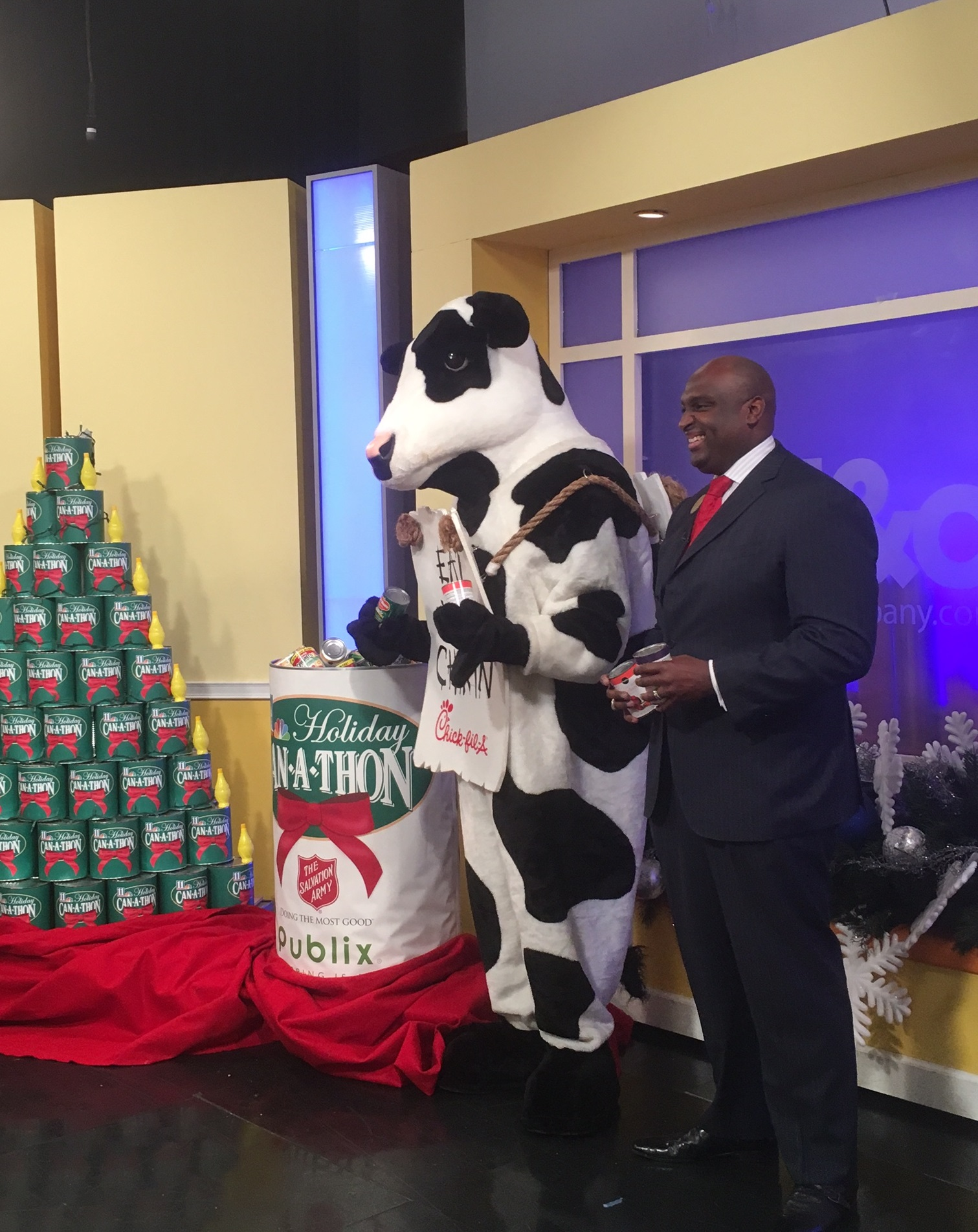 Chick-fil-A Community Affairs Partners with 11Alive�s Annual Can-A-Thon