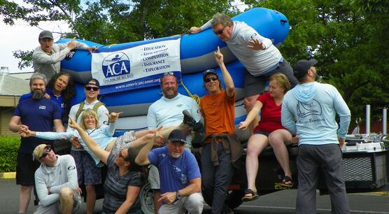 Rafting APW group photo