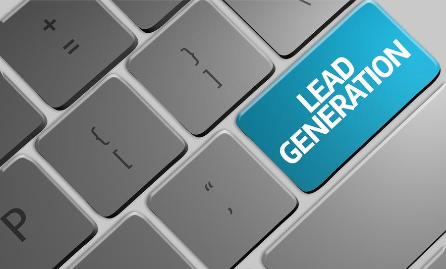Lead-generating website