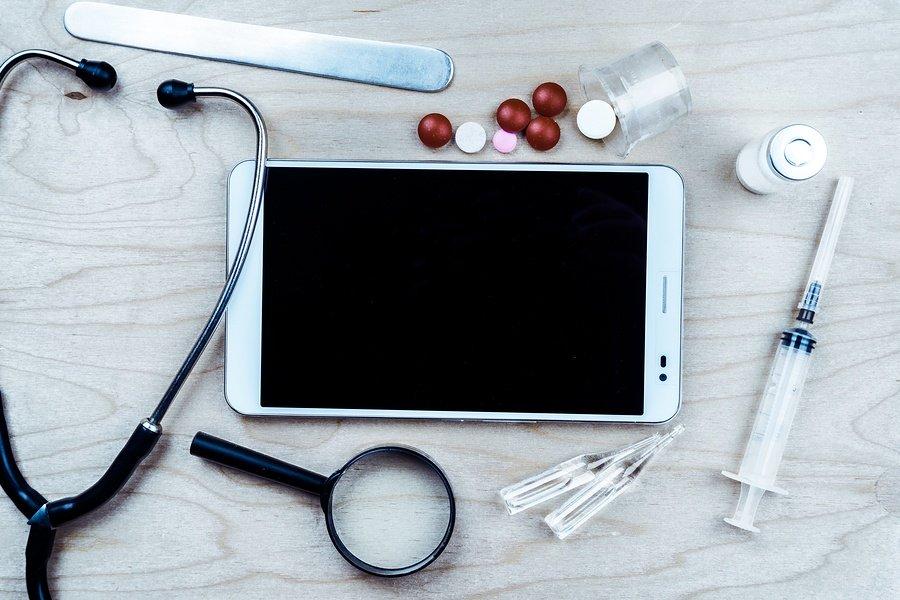 Mobile healthcare searches