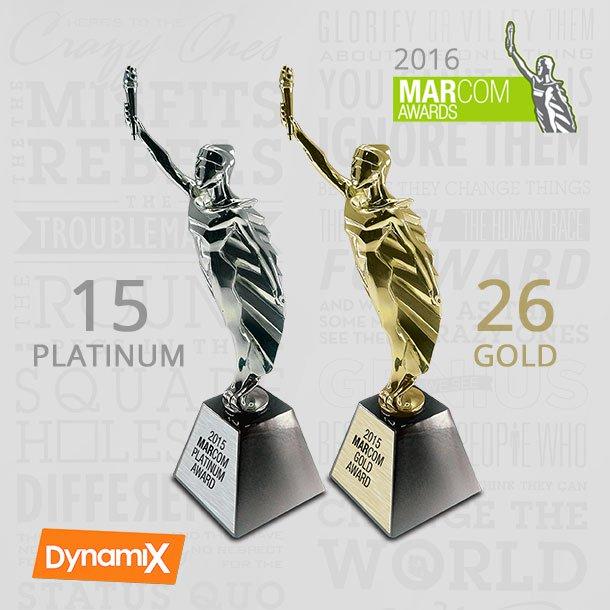 MarCom Awards 2016 Most Awarded
