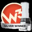 2016 W3 Award Winner Silver