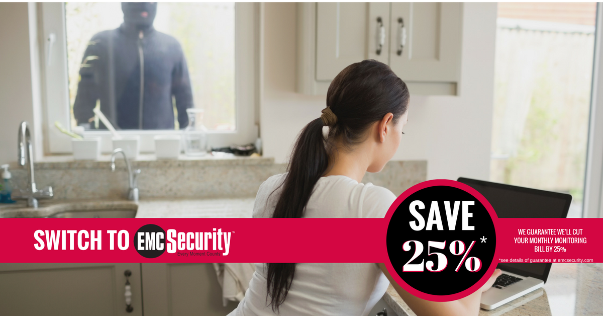 We will save you 25 guaranteed emc security for Emc security systems