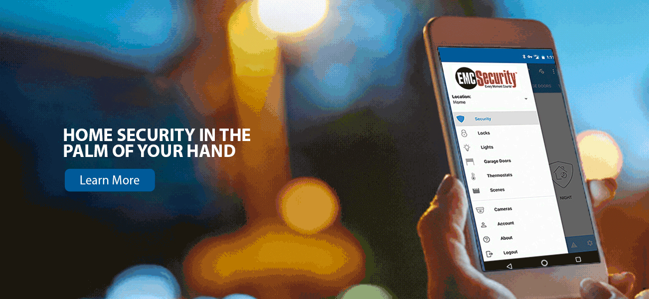 Smart home security in the palm of your hand