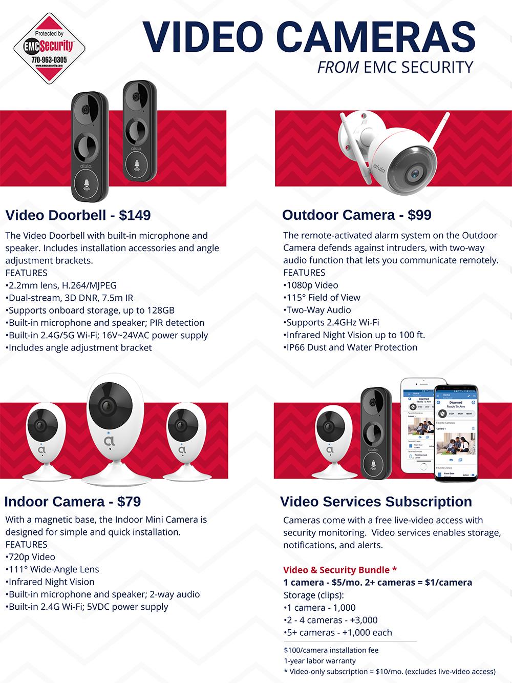 Security Surveillance Camera Specs copy