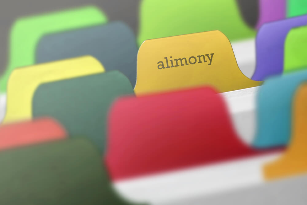 Alimony at judgment phase