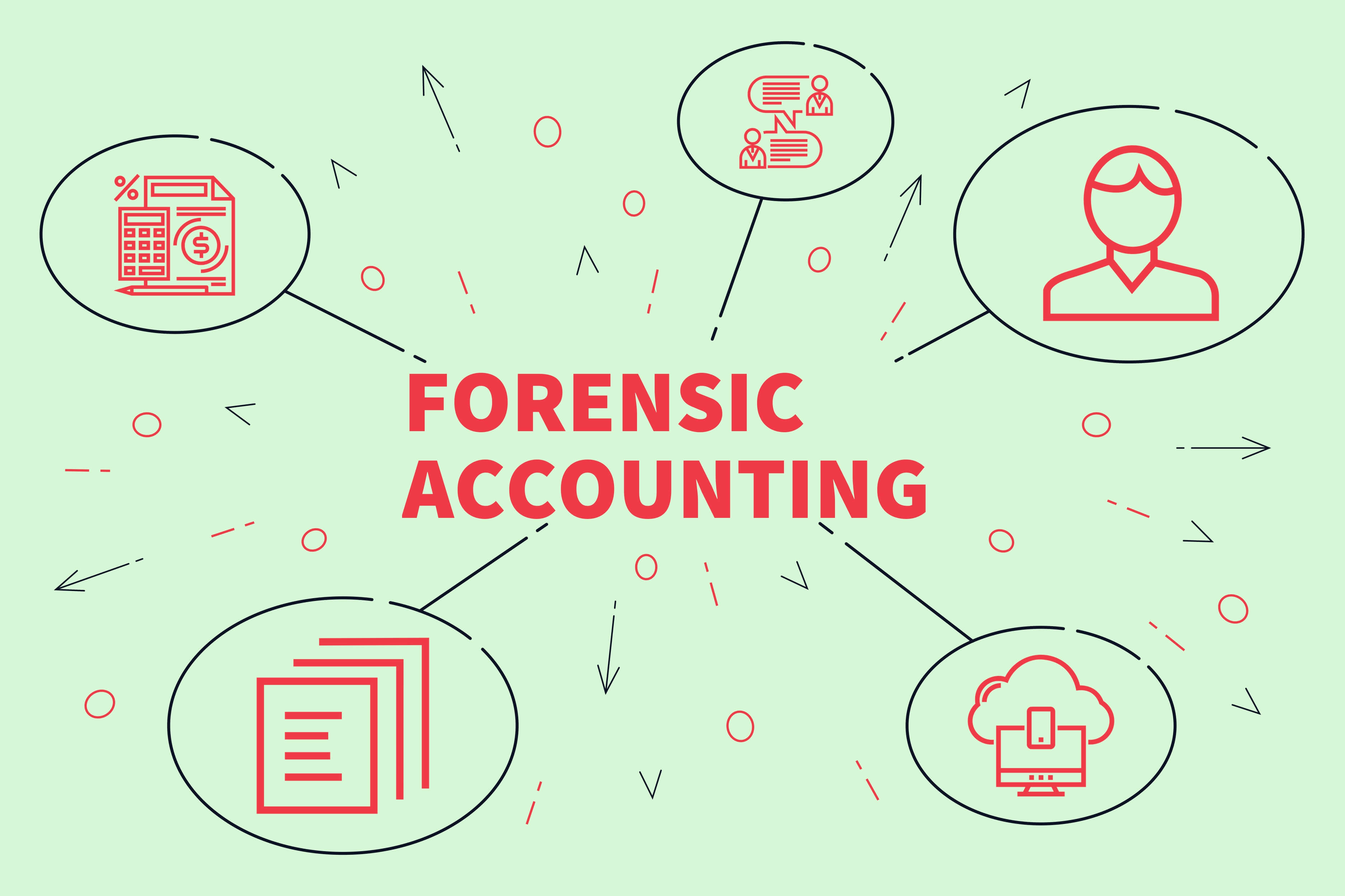 730 Evaluation in forensic accountant