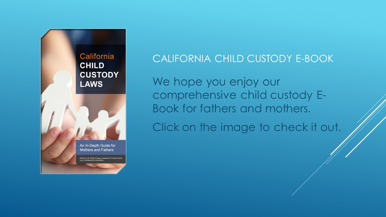 California child custody laws ebook