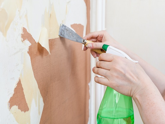 Removing Peeling Wallpaper