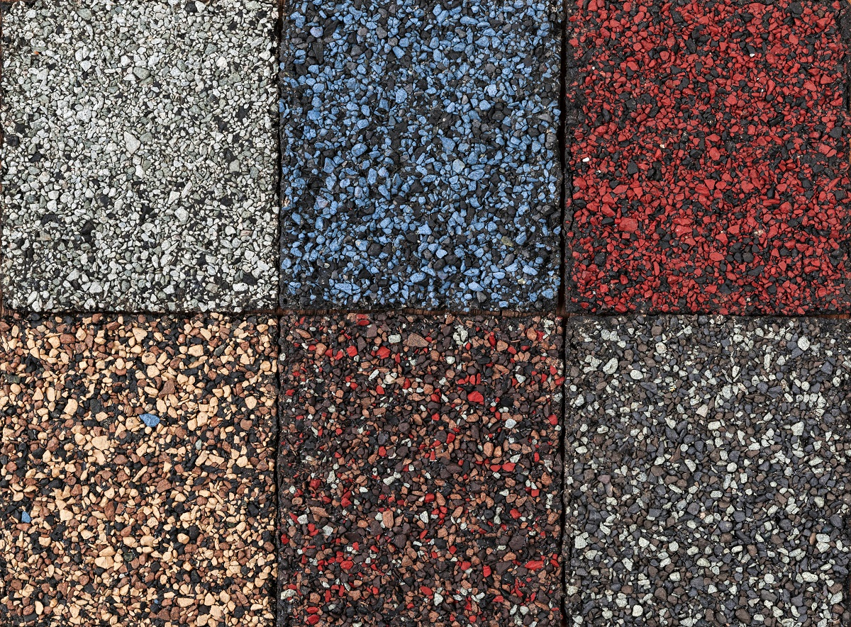Asphalt Shingle Samples