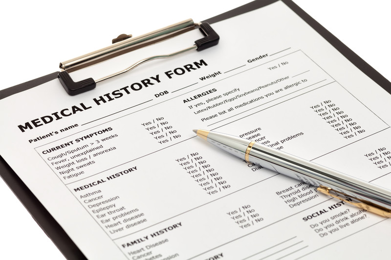 HIPAA Medical History