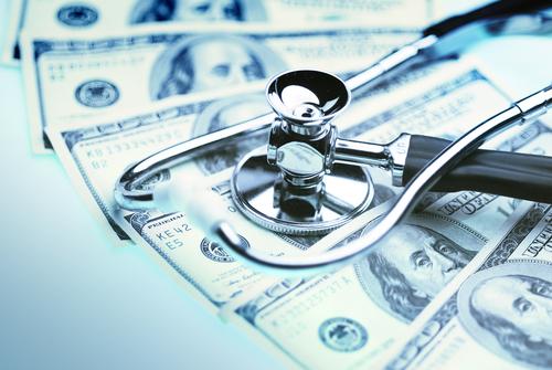 Money and Doctor Equipment