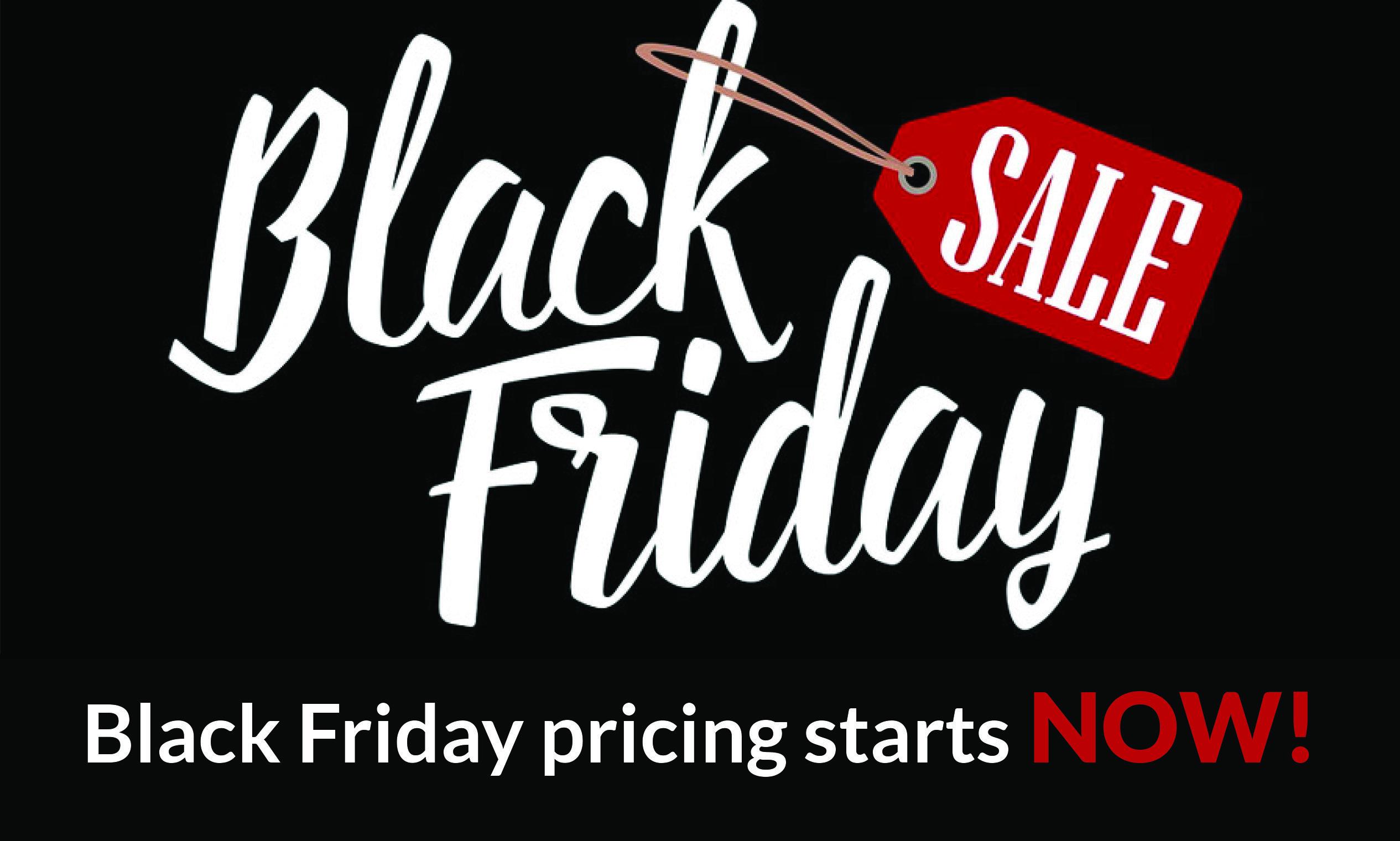 2017 Black Friday Deal!