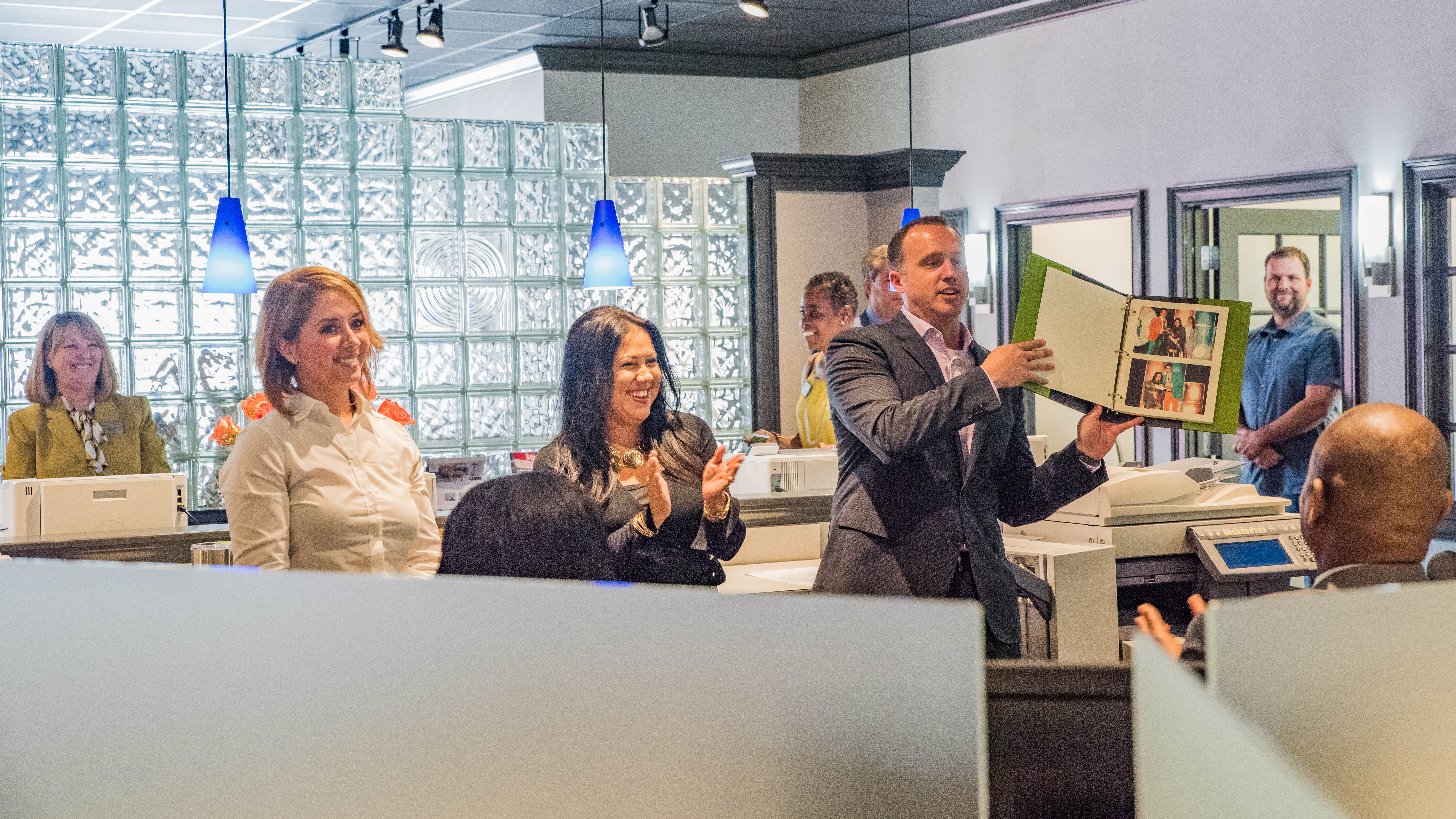 BHGRE Metro Brokers Holds Ribbon Cutting for Remodeled Office