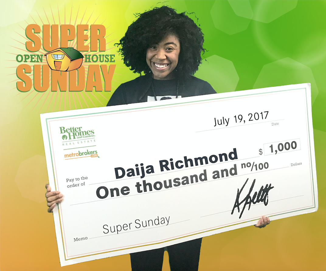 June Super Sunday Winners: Daija Richmond and Mohan Saini!