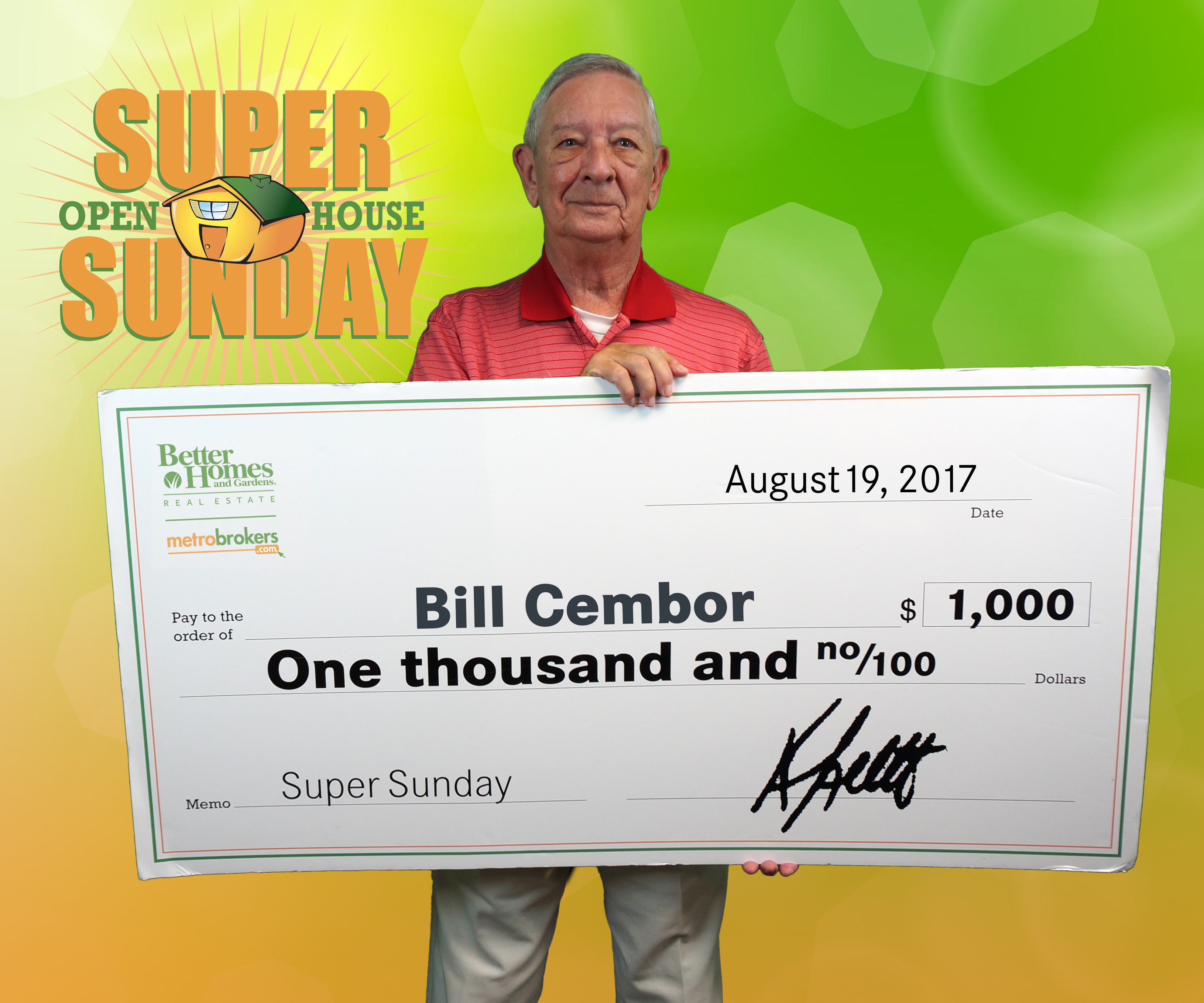 July Super Sunday Winner