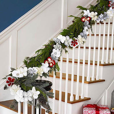 Easy Two-Step Holiday Party Decorations