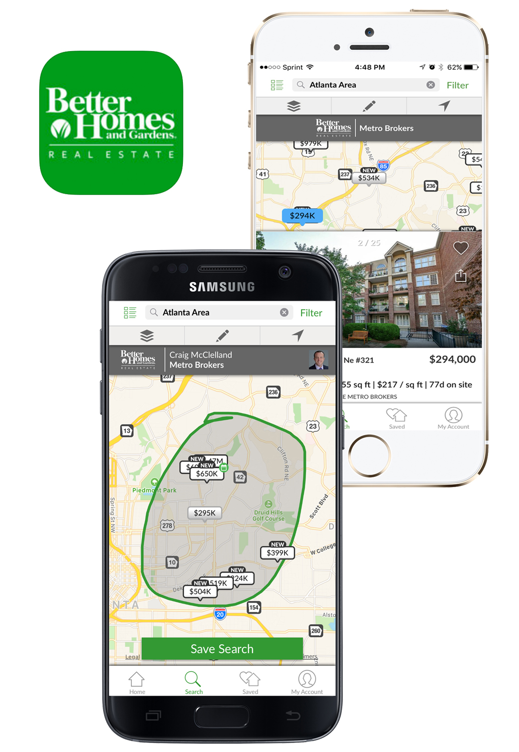 BHGRE Metro Brokers App