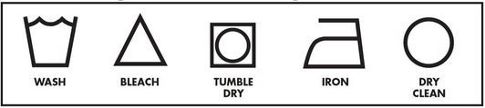 Symbols on Clothing Tags: How to Read Labels & Why Not Remove