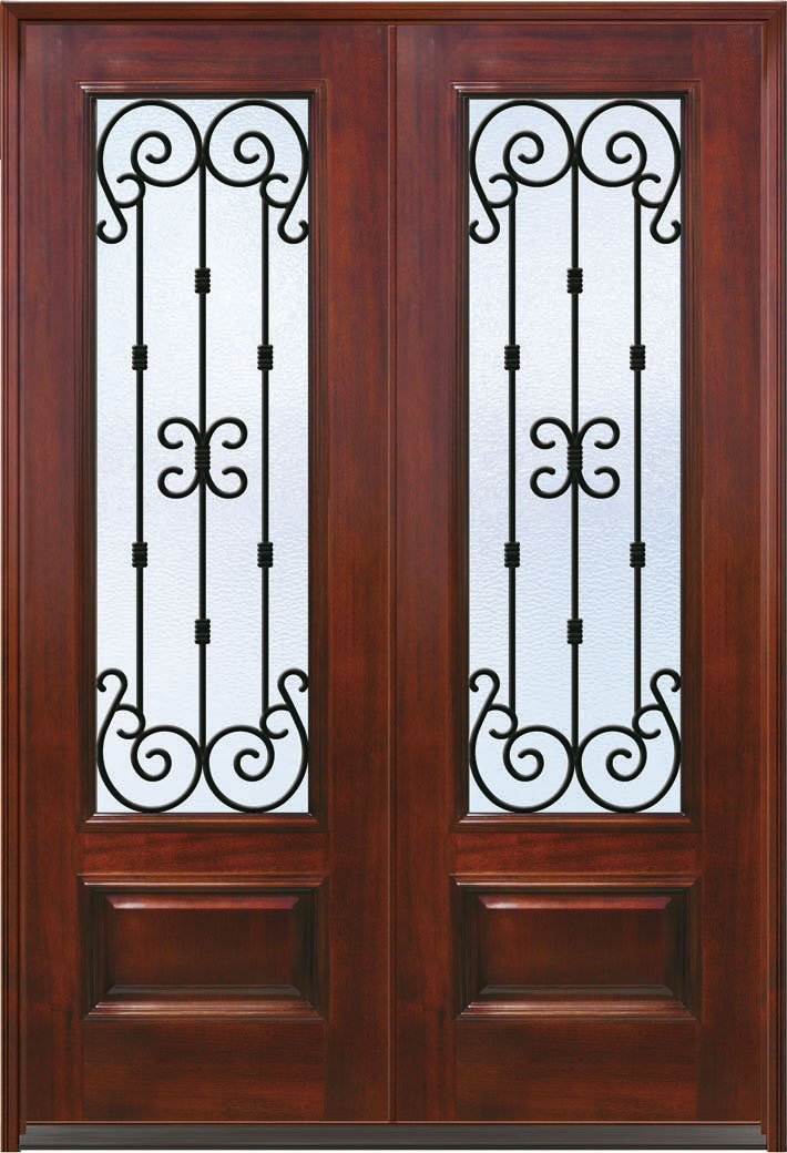 Exterior Fiberglass Doors Atlanta 18 Best Classic Craft Mahogany Collection Images On Pinterest