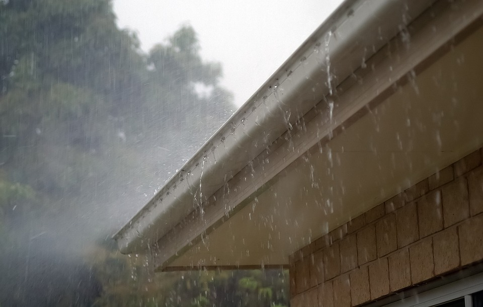 rain and gutters