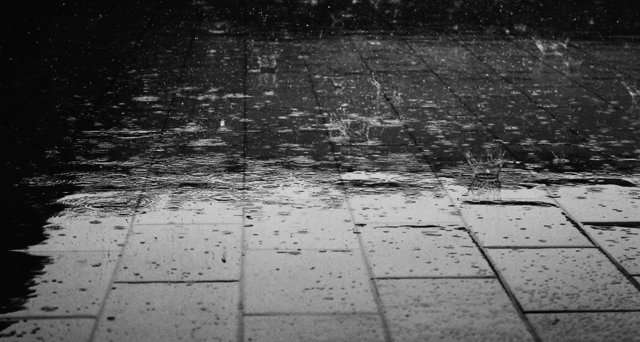 flooded ground