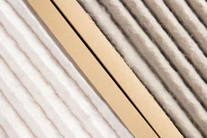 Dirty air filter and clean air filter