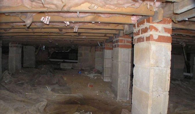 Dirty Crawlspace
